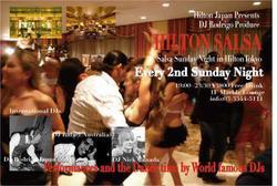 12/11 SALSA NIGHT @ HILTON HOTEL TOKYO