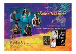 11/14(水)Sayaka&Palma Habaneraレコ発ライブ@六本木STB     一夜限り、躍動感溢れるMUSIC×DANCE!