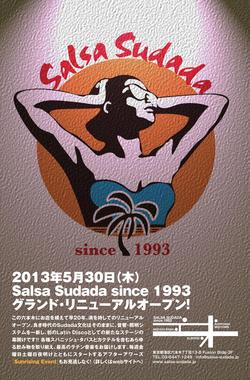 祝!5/30(木)六本木Salsa Sudada since 1993グランド・リニューアル・オープン!